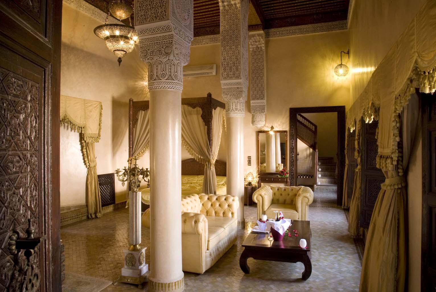 Hu00f4tel de luxe u00e0 Fes : Palais Sheherazade - Suites Royale Riad Fes