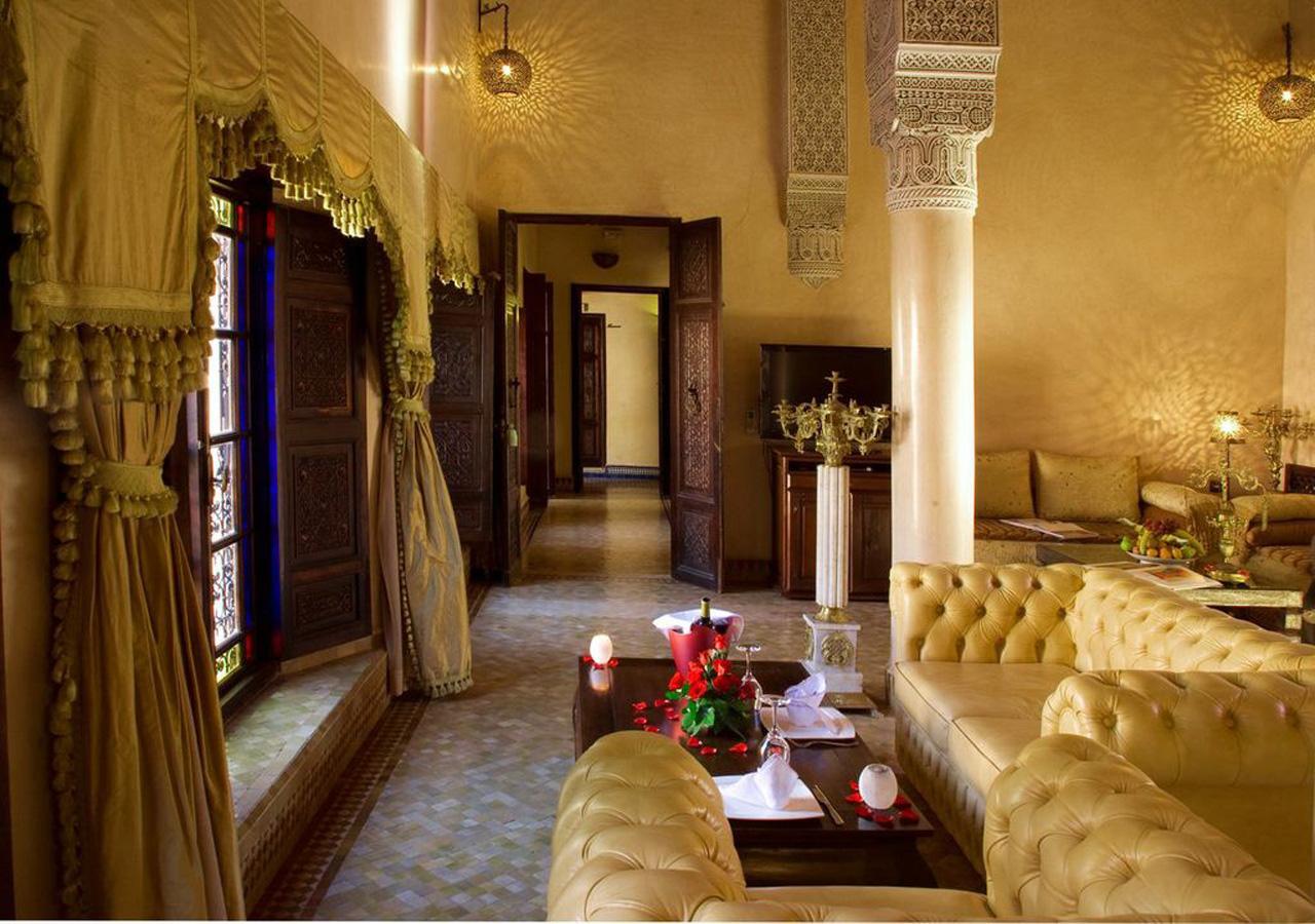 Hôtel de luxe à fes : palais sheherazade   suites royale riad fes